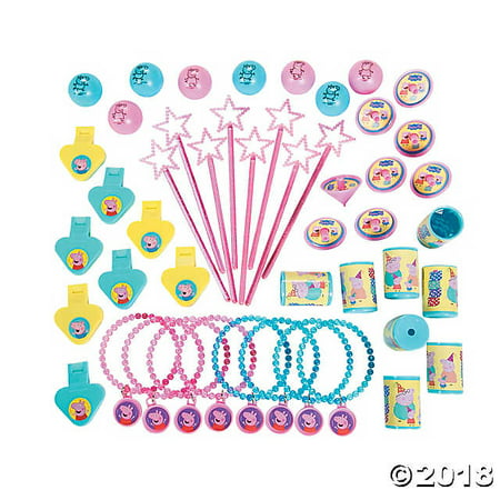 PEPPA PIG Birthday Mega Mix Value Favors Pack Party - Peppa Pig Party Theme