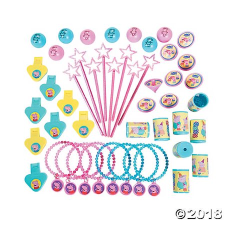 PEPPA PIG Birthday Mega Mix Value Favors Pack Party Decorations