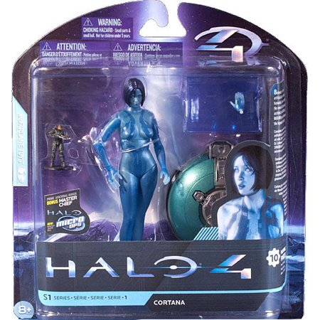 McFarlane Halo 4 Series 1 Extended Cortana Action Figure