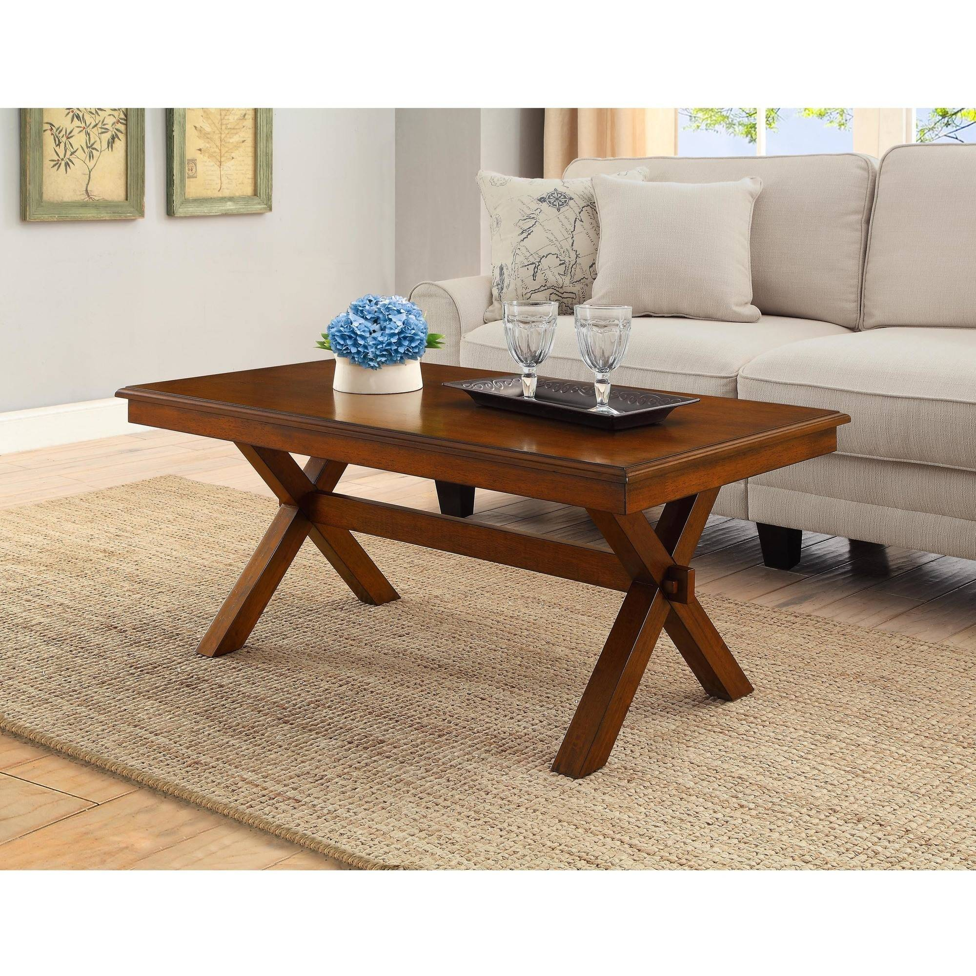 Better Homes and Gardens Maddox Crossing Coffee Table, Cognac by WHALEN LIMITED