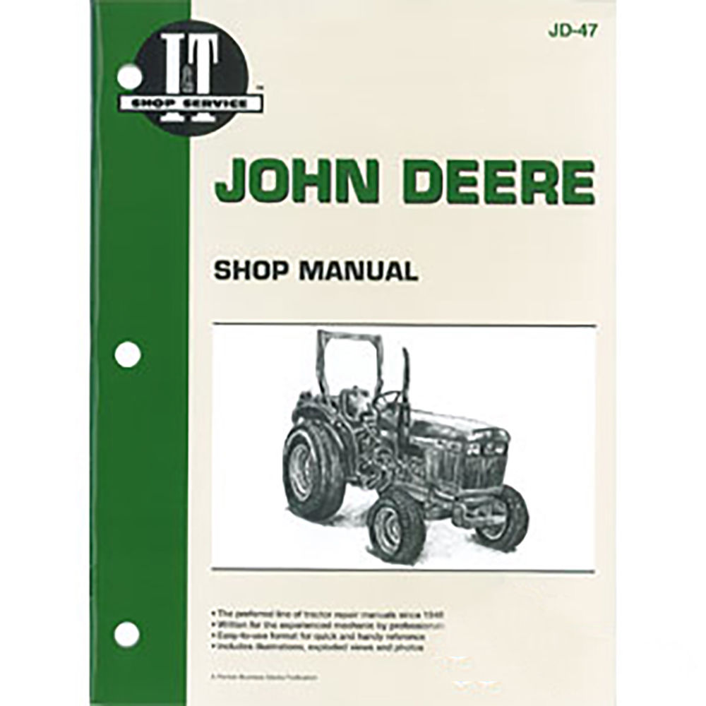 JD-47 New Shop Manual For John Deere Compact Tractor 1050 850 950 -  Walmart.com