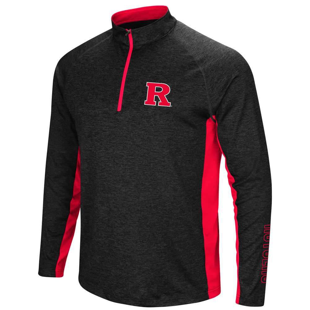 Rutgers Scarlet Knights Colosseum Upstart 1/4 Zip Windshirt