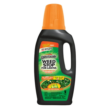 Spectracide Weed Stop for Lawns plus Crabgrass Killer Concentrate, 32-fl
