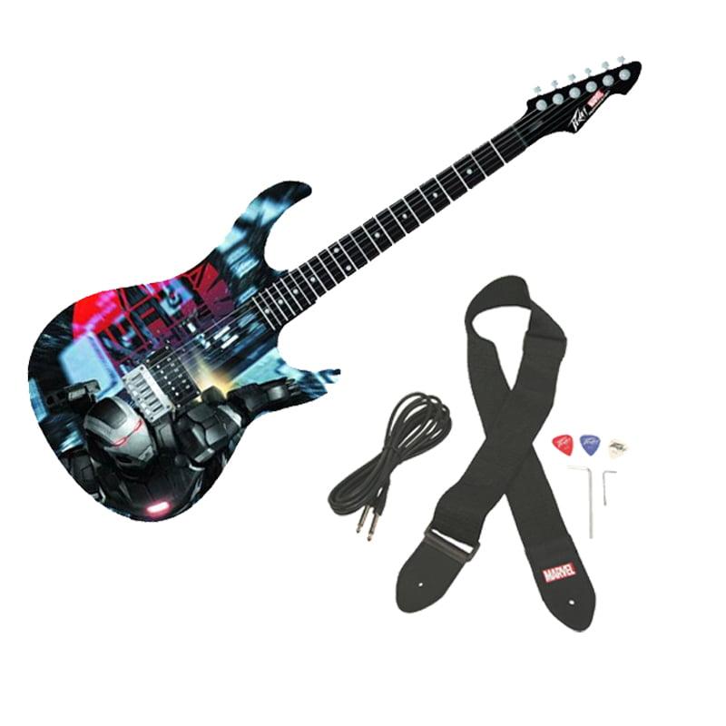 Peavey Rockmaster Full Size Marvel Iron Man 3 War Machine Electric Guitar New