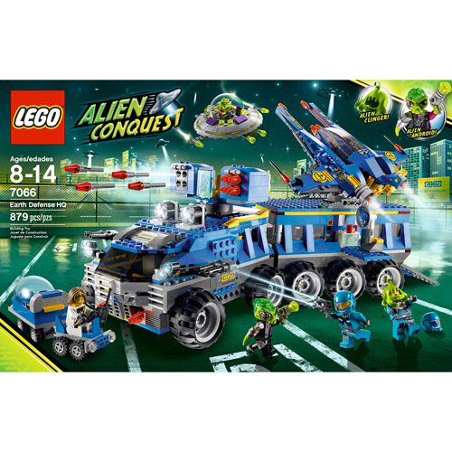 LEGO Alien Conquest Earth Defence Headquarters