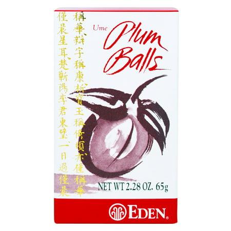 Eden Foods Eden  Ume Plum Balls, 2.28 oz