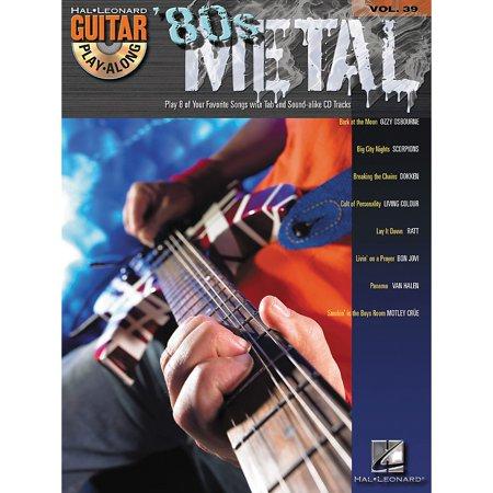 Hal Leonard 80s Metal Guitar Play-Along Series Volume 39 Book with CD