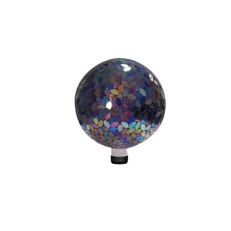 10 Inch Mosaic Gazing Ball - Purple ()