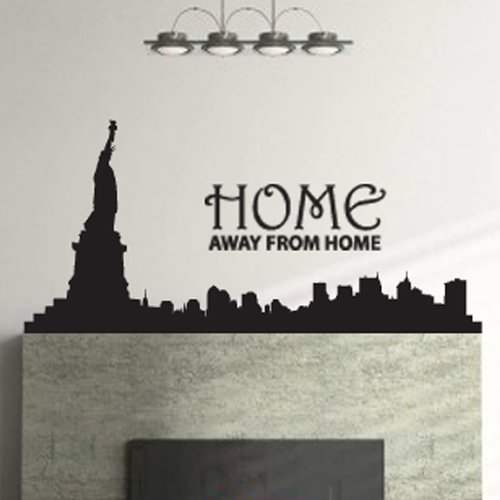 Fox Hill Trading New York City, Home Away From Home Vinyl Wall Decal