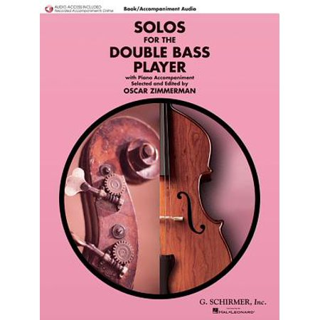 Solos for the Double Bass Player : Double Bass and Piano