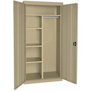 "Elite Series Combination Cabinet with Adjustable Shelves, 36""W x 18""D x 78""H, Tropic Sand"