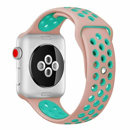 Apple Watch Silicone Sport Band Replacement Series 4 3 2 1 38/40mm 42/44mm Nike+