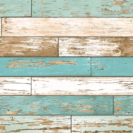 A-Street Prints Scrap Wood Weathered Texture Wallpaper