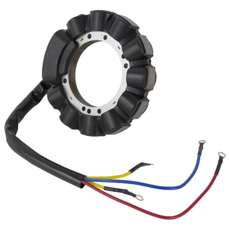 NEW STATOR FITS MERCURY MARINER 40HP 2 CYL ENGINE ELECTRIC START 398-5255 18-5856 3985255 (Mercury 2 Cylinder Stator)
