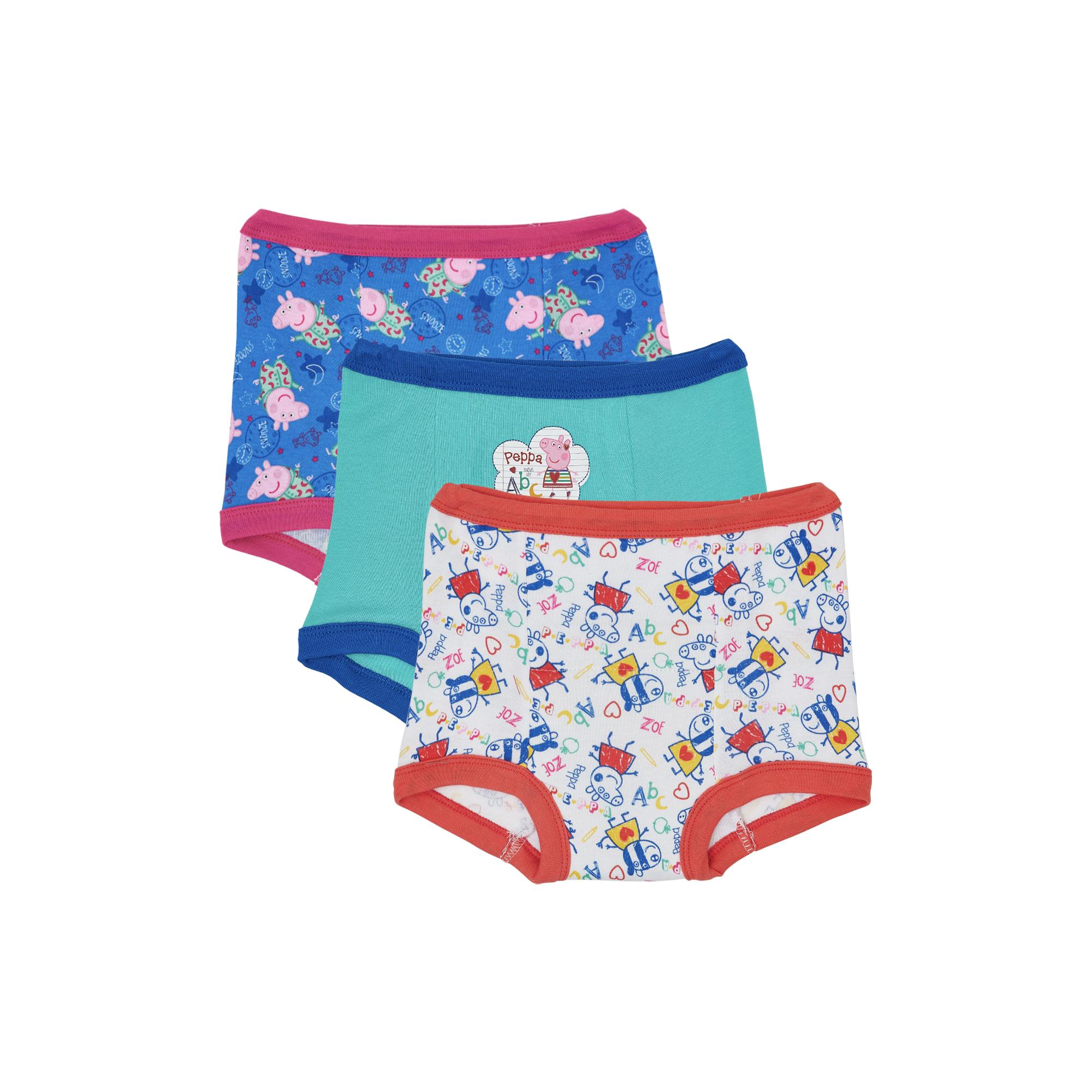 Peppa Pig Toddler Girls Training Pants, 3 Pack