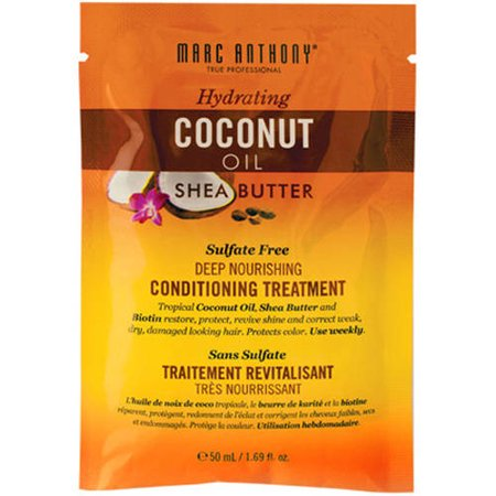 Marc Anthony Hydrating Coconut Oil & Shea Butter Conditioning Treatment, 1.69 fl