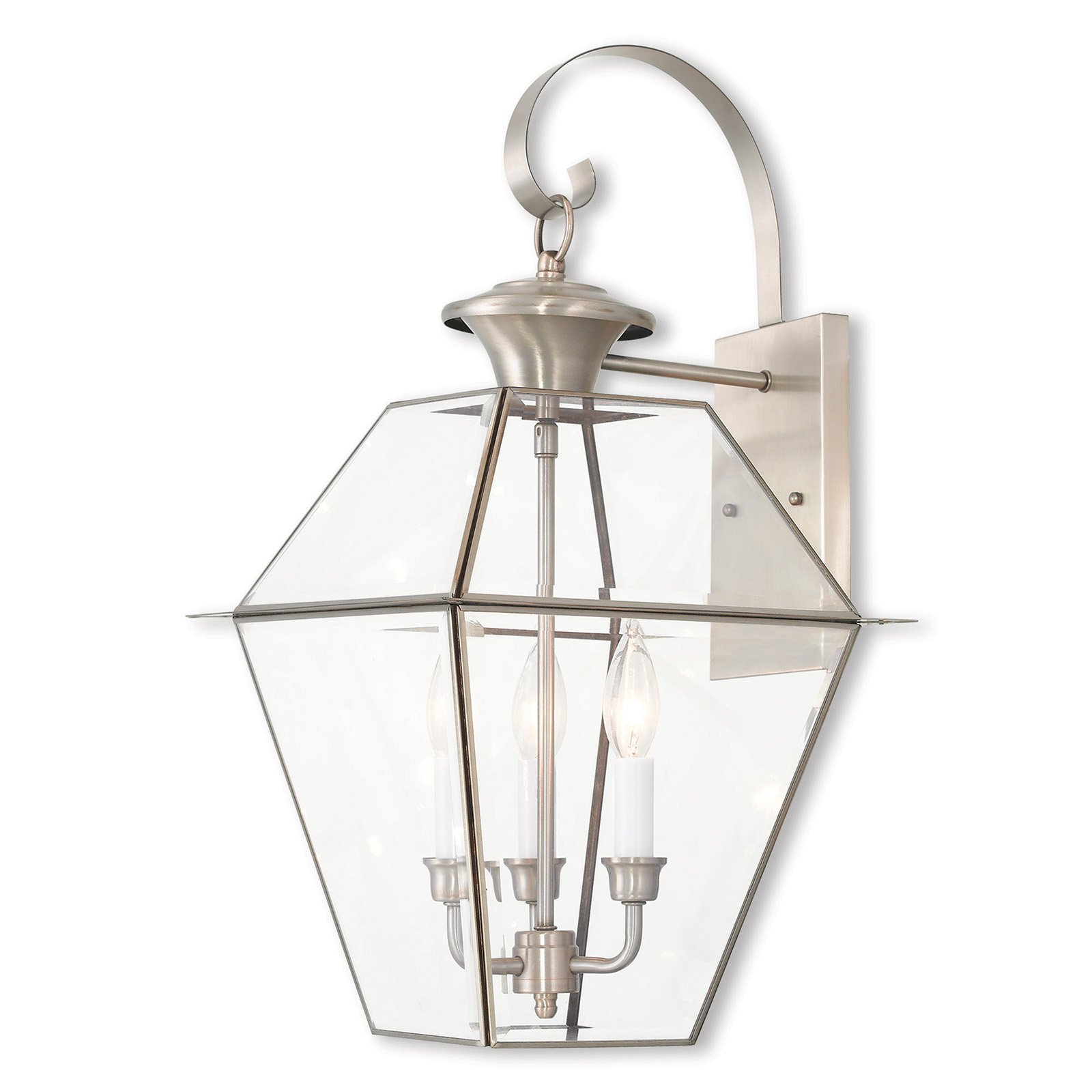Livex Lighting Westover 3 Light Outdoor Wall Lantern
