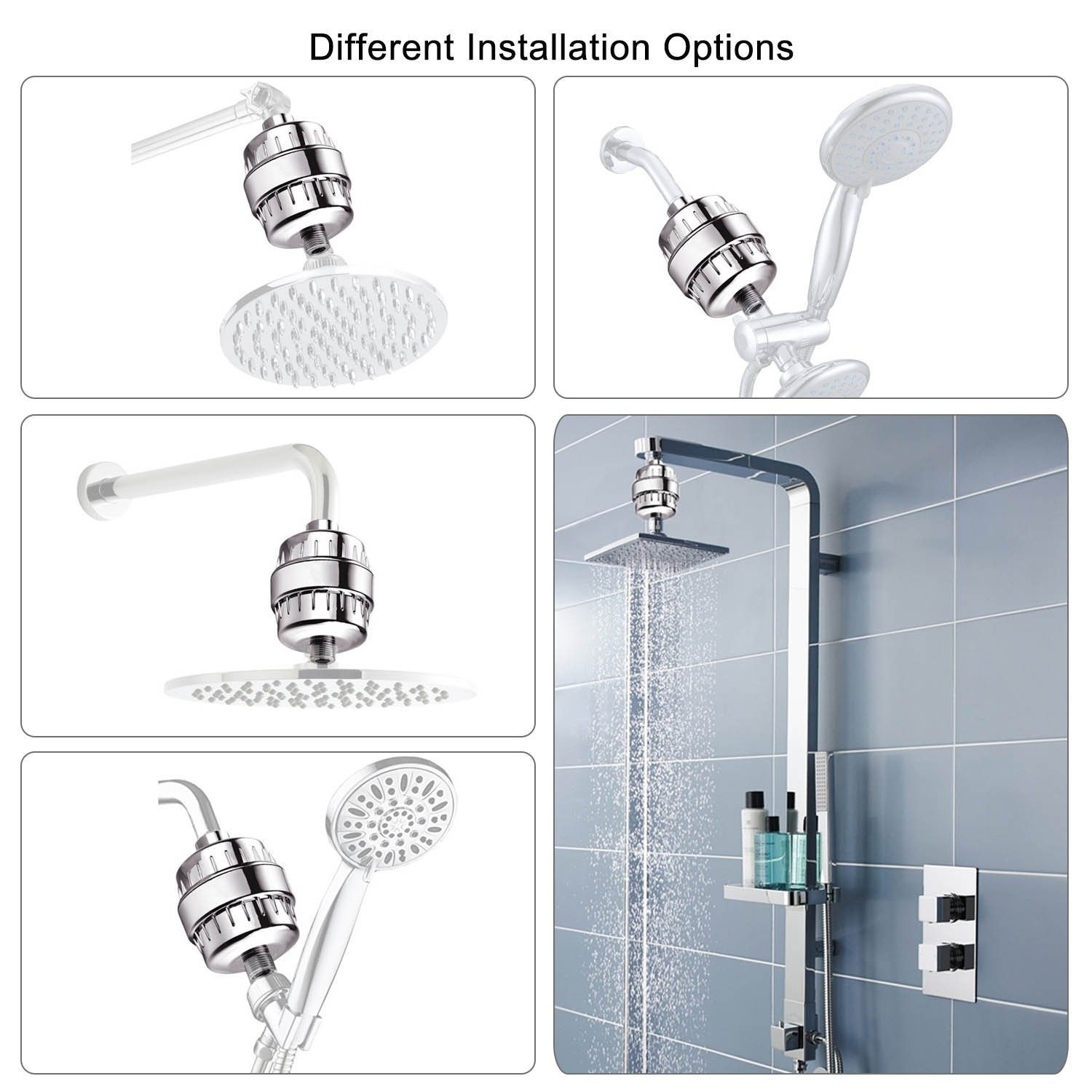 Showerheads Handheld Showers Showers Shower Parts