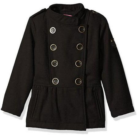 Pink Platinum Girls 4-6x Wool Peacoat - Pea Coat Girls