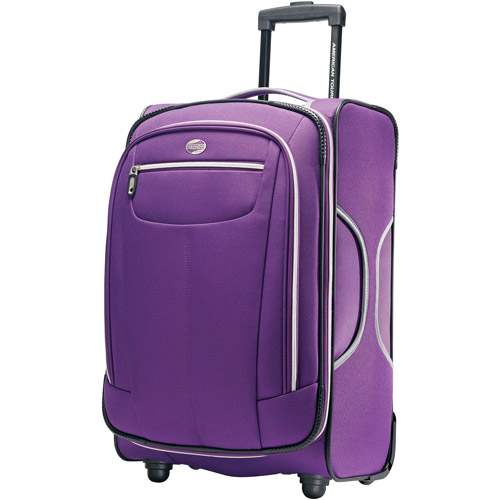 "American Tourister Atmosphera Solar Rose 21"" Carry-on Upright, Purple"