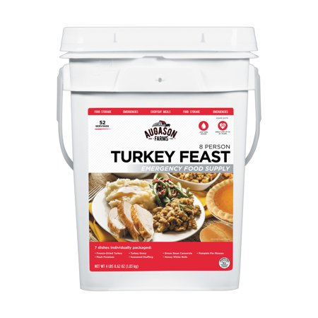 Augason Farms Turkey Feast 8 Person Emergency Food