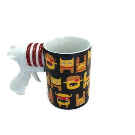 Dartington Crystal - Space Gun Coffee Mug -