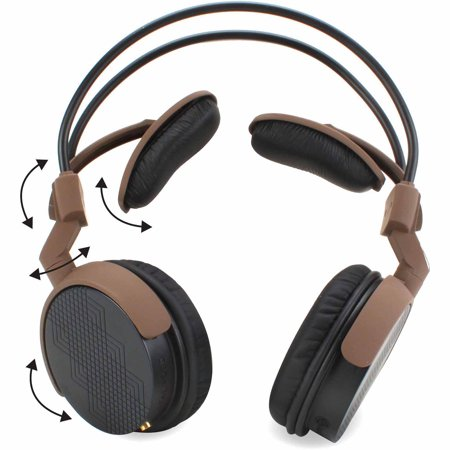 9fbe5dafcfa GOgroove AudioLUX WDX Natural Acoustic Over-Ear Walnut Wood ...