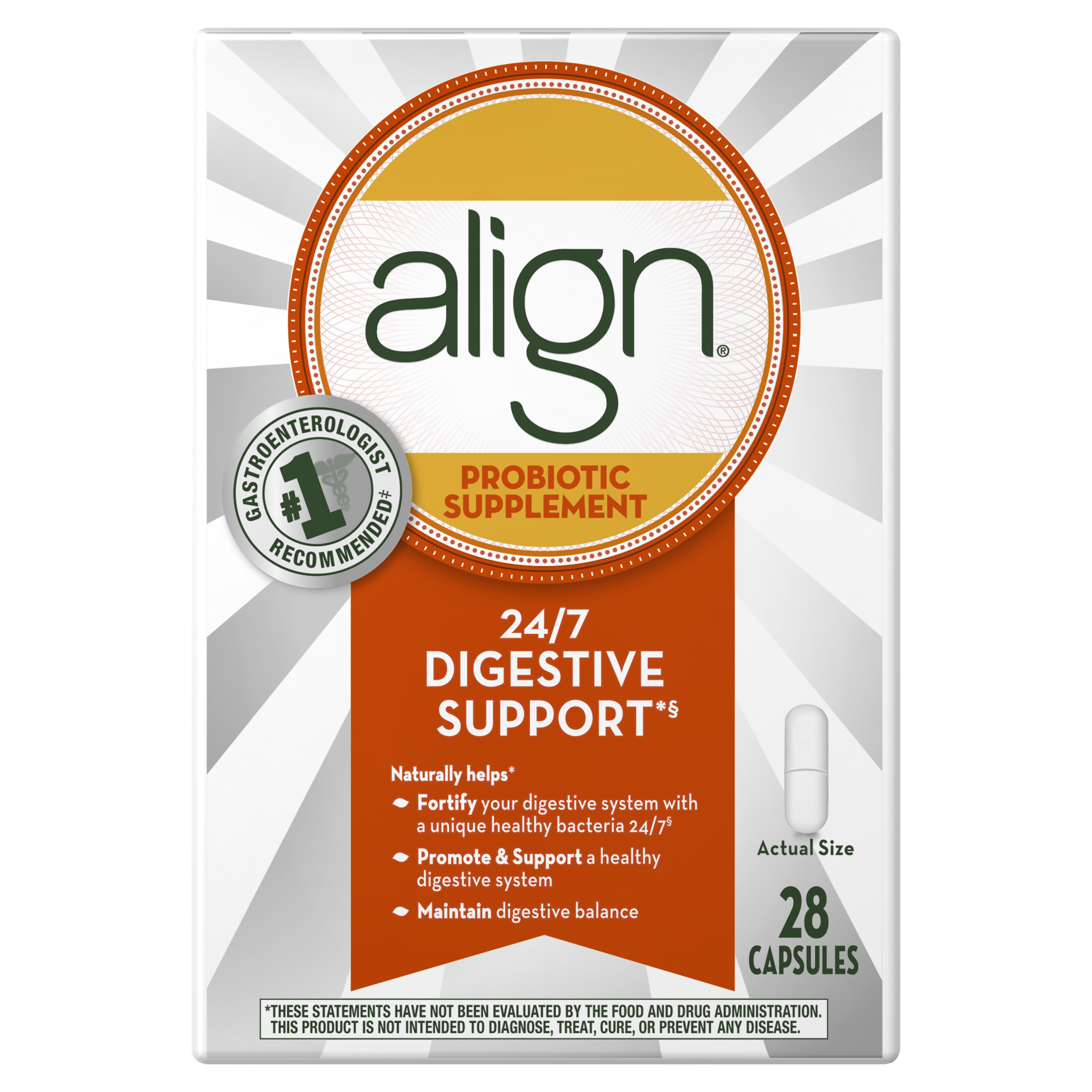 Align Probiotic Supplement 28 count