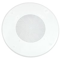 White Round Commercial Ceiling Speaker Grill for 8-Inch Speaker By Parts Express