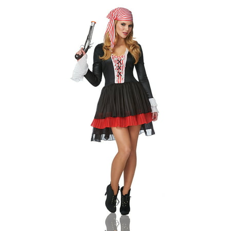 Adult Female Pirate Captain Costume byFranco American Novelties 48534