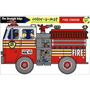 Fire Engine Color-A-Mat,  Kids Education by Melissa & Doug