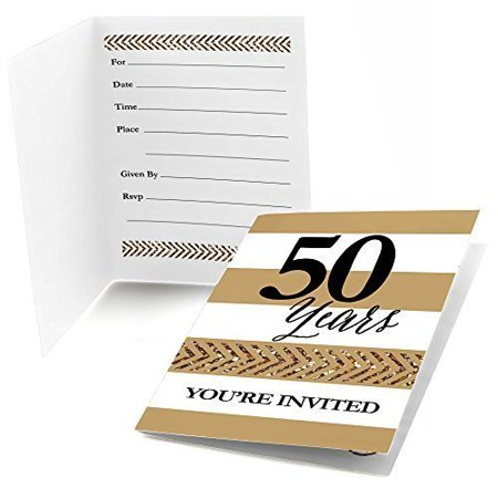 40th Wedding Anniversary Invitations - We Still Do - 50th Wedding Anniversary Fill In Invitations (8 count)
