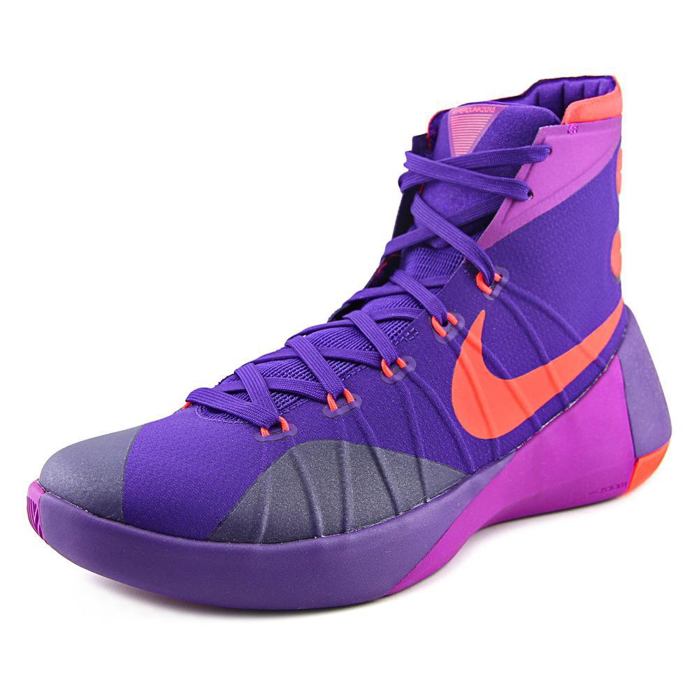 best website 929d3 a1078 Nike Hyperdunk 2015 Men Round Toe Synthetic Purple Basketball Shoe -  Walmart.com