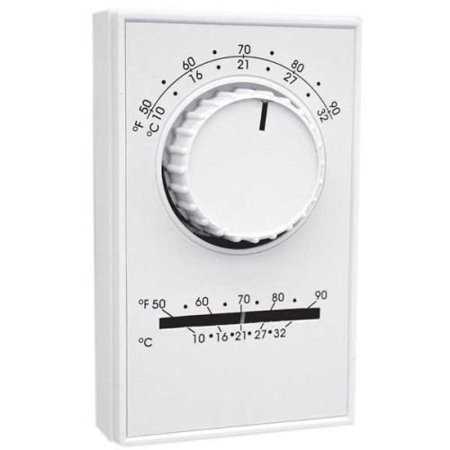 continental fan tst120v 120v thermostat line (120v Line Voltage Round Canopy)