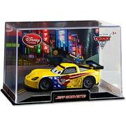 Disney Cars 1:43 Collectors Case Jeff Gorvette Diecast Car