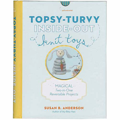 Dublin Gift Artisan Books, Topsy Turvy Inside Out Knit Toys Multi-Colored