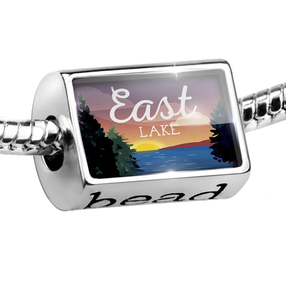 Bead Lake retro design East Lake Charm Fits All European Bracelets