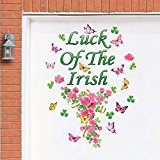 Luck of the Irish Garage Door Magnet - Garage Door Magnets Halloween