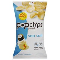 Popchips Sea Salt Popped Chip Snack, 5 Oz.