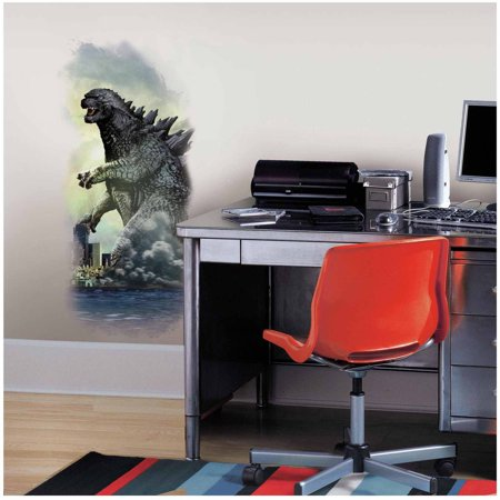 Godzilla City Wall Graphix Peel and Stick Wall Decals