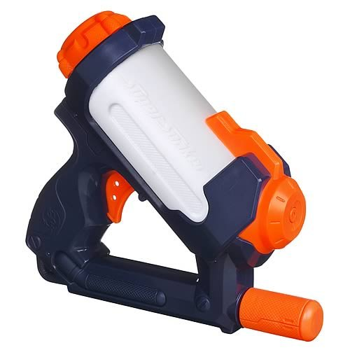 NERF Super Soaker Hydro Fury Water Blaster, Massive water capacity! Pump and blast! By Hasbro Ship from US by