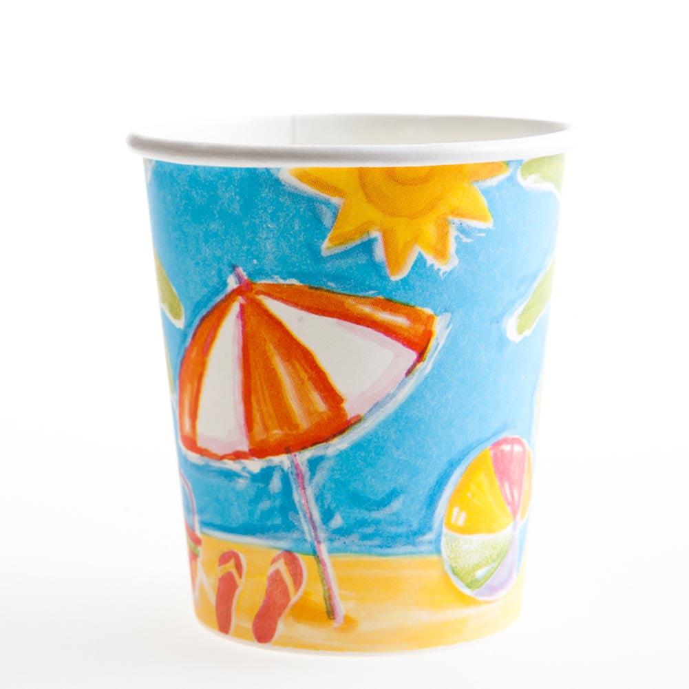 Beach 7 oz. Cups