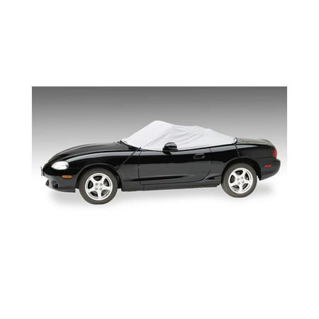 Covercraft Custom Convertible Interior Cover - Sunbrella Gray Covercraft Jaguar Interior Cover
