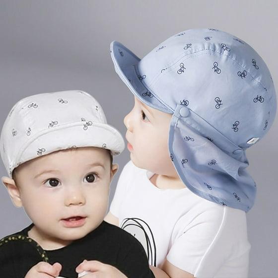 069646ac8fde4 BAGGUCOR - Baby Boy Sun Hats Summer Baseball Caps with Shawl Autumn ...