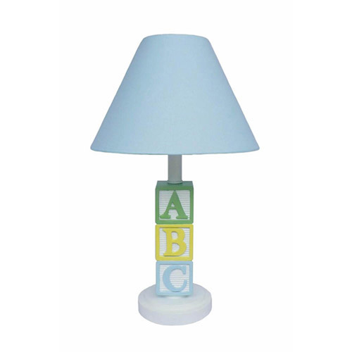 ABC Lamp, Blue Shade by Creative Motion