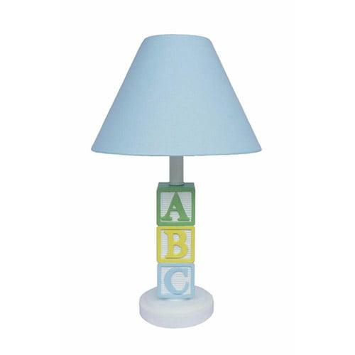 ABC Lamp, Blue Shade