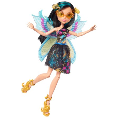 Monster High Garden Ghouls Wings Cleo De Nile Doll - Cleo De Nile
