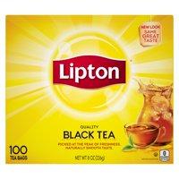 Lipton Black Tea Tea Bags 100 Tea Bags