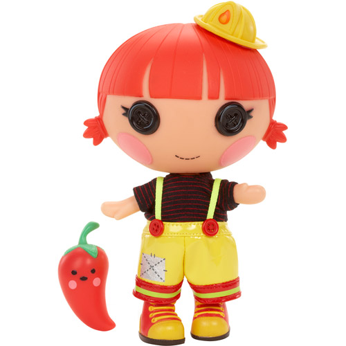 Lalaloopsy Littles Red Fiery Flame Doll