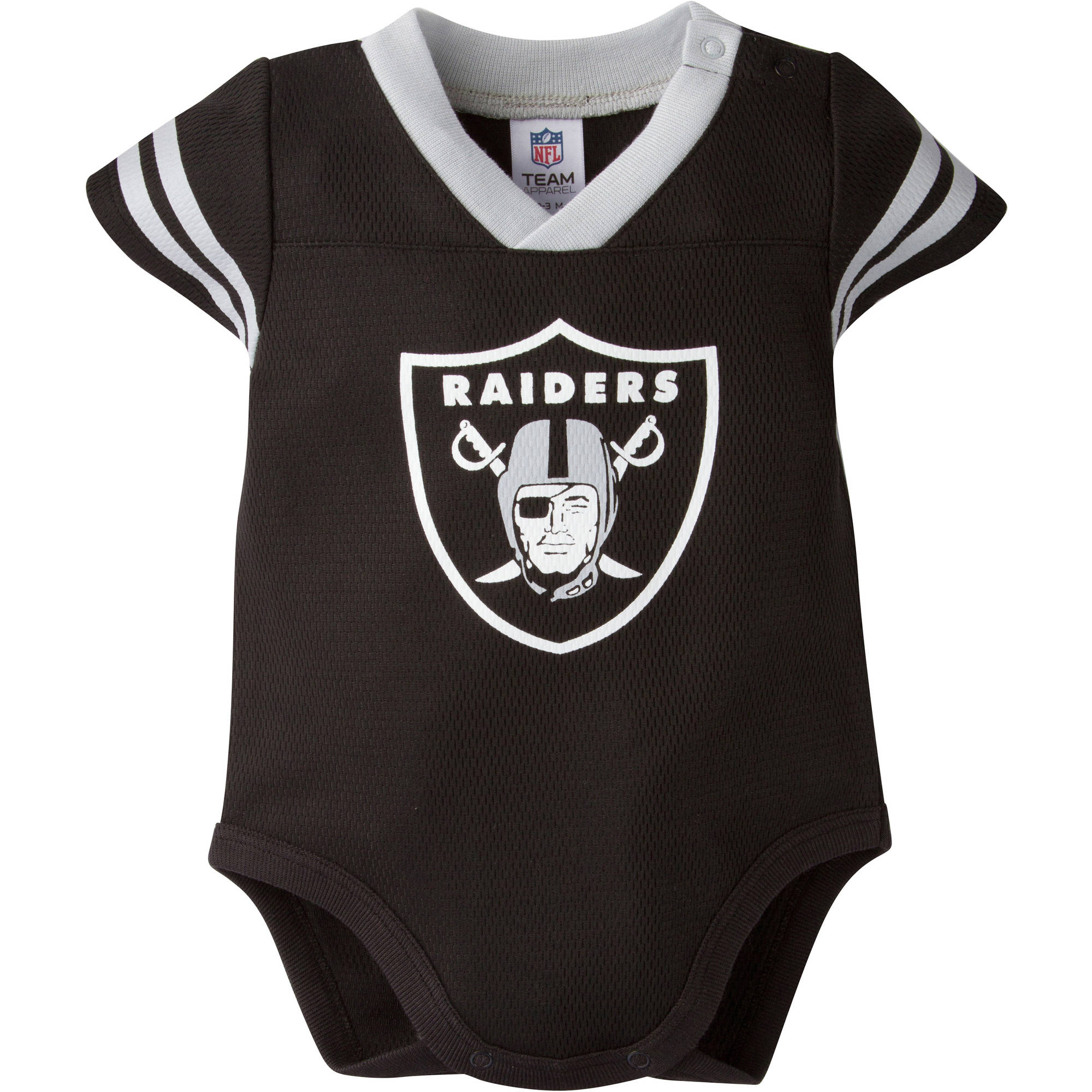 3b45cf8a9 Oakland Raiders Dazzle Bodysuit - Walmart.com